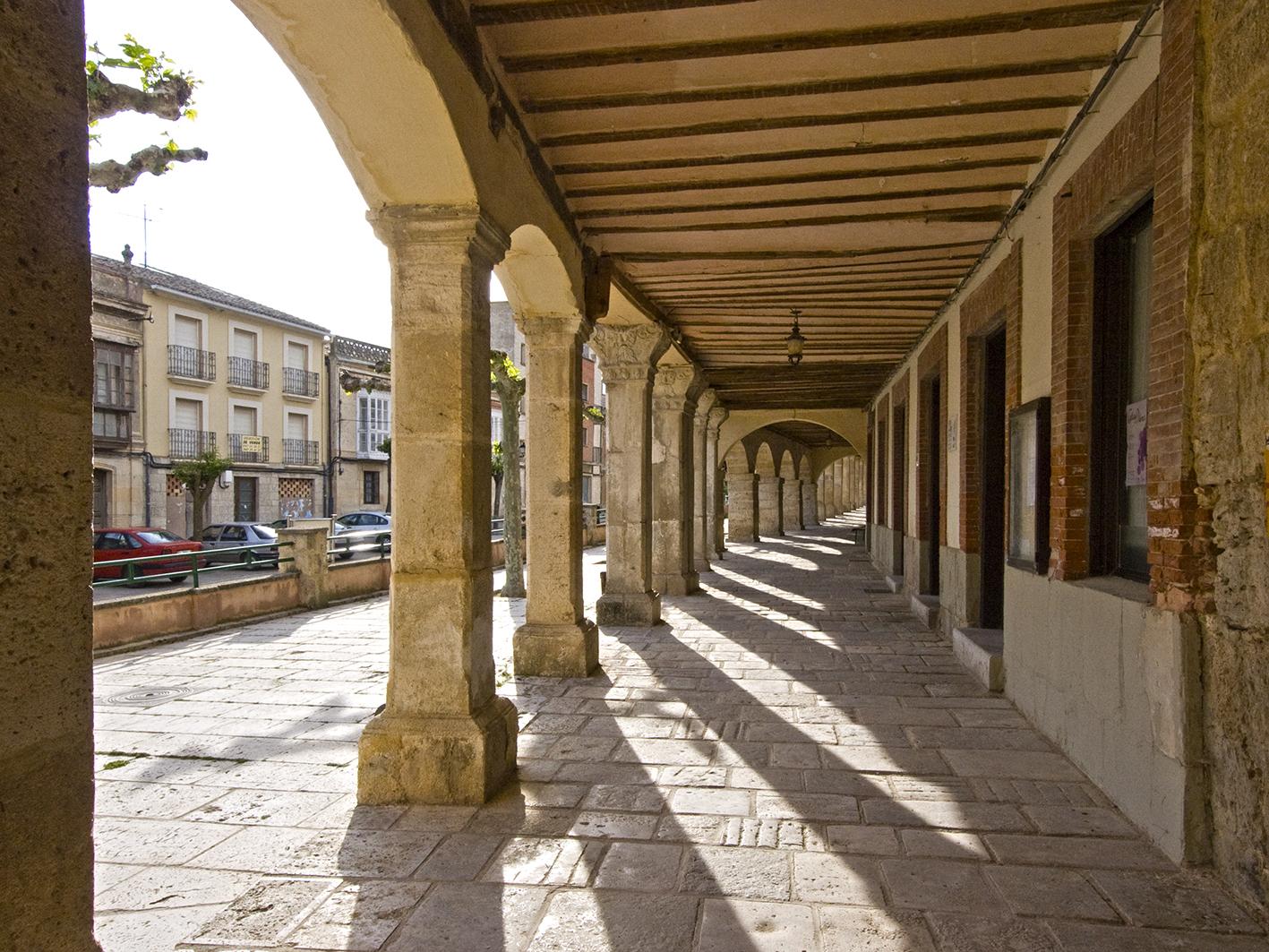 Plaza Mayor04-Castrojeriz
